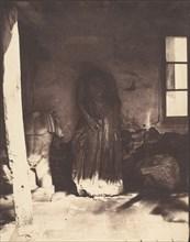 Antiquities in the Museum at Cherchell, Algeria, 1853-54.
