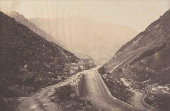 Bains de la Raillière à Cauterets, 1853.