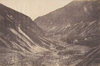 Vallée et chapelle d'Héas, St-Sauveur, 1853.