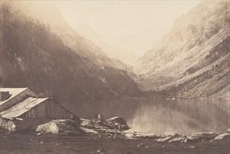 Lac de Gaube, Cauterets, 1853.
