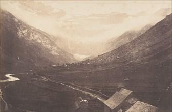 Cirque de Gavarnie, St Sauveur, 1853.