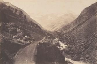 Le chaos en allant à Gavarnie, St-Sauveur, 1853.
