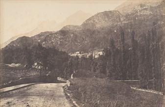 Vue des Eaux de Saint-Sauveur, 1853.