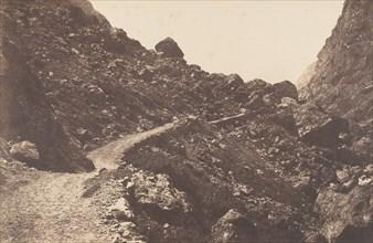 Sentier du chaos, St-Sauveur, 1853.