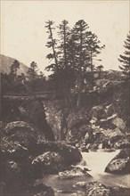 Cauterets, Pont d'Espagne, 1853.