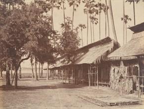 Amerapoora, Barracks of the Burmese Guard, 1 September-21 October 1855.
