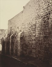 IIe Station. Jésus est chargé de sa croix. Cette Station est placée au bas de la Scala Santa qui a été entièrement transportée à Rome, il n'en reste que les première assises, 1860 or later.