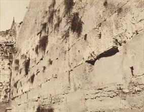 Jérusalem. Mur oú pleurent les juifs. Grandes Assises du Temple de Salomon, 1860 or later.