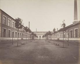Cour des Ateliers, ca. 1880.