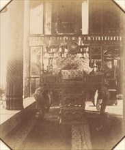 [Golestan, The Peacock Throne, Teheran, Iran] (Takht-I Taous), 1840s-60s.