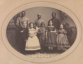 Emancipated Slaves Brought from Louisiana by Colonel George H. Banks, December 1863.
