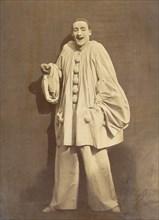 Pierrot Laughing, 1855.