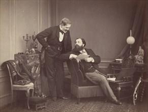 Louis Robert and Olympe Aguado, ca. 1860.