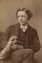 Lewis Carroll (Charles Lutwidge Dodgson), 1863.