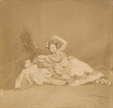 Royal Children in Tableau of the Seasons, 1854.