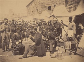 Duryea Zouaves, Fort Schuyler Adjutant's Mess, May 18, 1861.