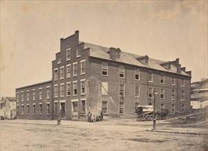 Civil War View, 1860s. (Building used Coloured [?] Richmond Va.)
