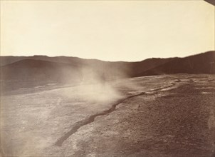 Fissure Vent at Steamboat Springs, Nevada, 1867.