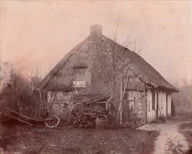 Ferme au toit de chaume, 1850-53.