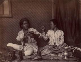 Servants, Batavia, 1860s-70s.