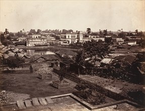 View in Calcutta, 1858-61.