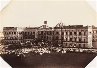 Queens Proclamation, Government House, Calcutta, November 1858, 1858.