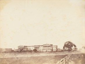 Government House, Calcutta, 1850s.