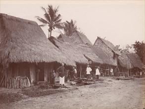 Chinese Village, Singapore, 1860s-70s.