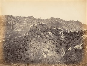 View of Simla, 1850s.