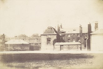 House from Across Lawn, 1850s.