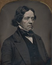 Elderly Man with Dark Hair, 1850s.