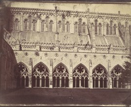 Salisbury Cathedral, 1850s.