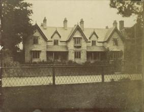 Gabled House Across Lane, 1850s.