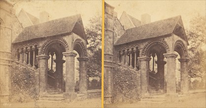 Group of 23 Early Stereograph Views of British Cathedrals, 1860s-80s.