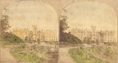 Group of 5 Early Stereograph Views of British Hotels and Inns, 1860s-80s.