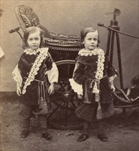 Eddie and Charlie Campbell, 1858-61.