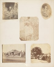 Young Girl in the Garden, 1850s. [A Bungalow after Cyclone].