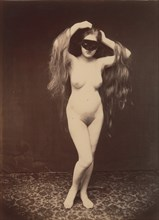 [Female Nude with Mask], ca. 1870.