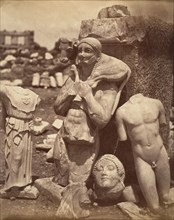 The Calf-Bearer and the Kritios Boy Shortly After Exhumation on the Acropolis; Danseuse du Temple de Bacchus, ca. 1865.