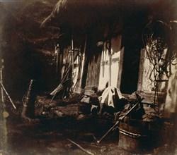 [Farmyard Scene], 1850-54.