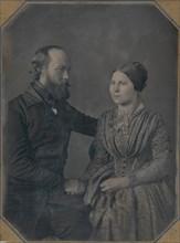 William and Sophia Palmer Langenheim, ca. 1846-47.