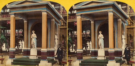 86 Stereographic Views of The International Exhibition of 1862, 1862. [Tinted Venus by J. Gibson, R.A.]