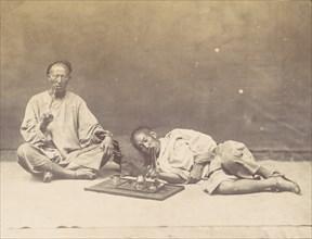 Opium smoker, 1867.