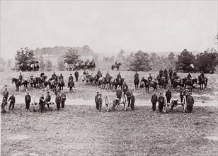 Pennsylvania Light Artillery, Keystone Battery, 1861-65. Formerly attributed to Mathew B. Brady.