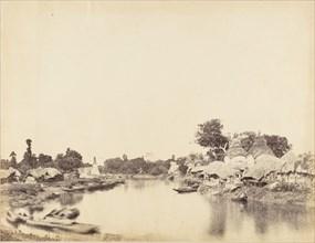 [Tolly's Nullah, Calcutta], 1850s.