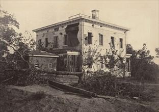 The Potter House, Atlanta, 1860s.