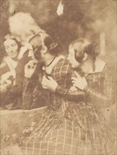 John Henning with Group of Ladies, 1843-47.