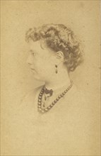 Florence Anne Claxton, 1860s.