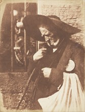 "John Henning as Edie Ochiltree from Sir Walter Scott's ""The Antiquary"", 1843-47."