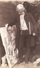 Henning with Parthenon Frieze, 1843-47.